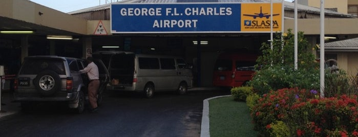 George F.L. Charles Airport (SLU) is one of Airports.