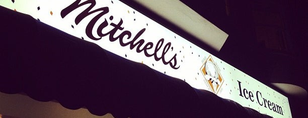 Mitchell's Ice Cream is one of California To-Do.
