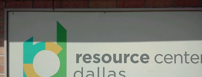 Resource Center of Dallas is one of Jaycee's Saved Places.