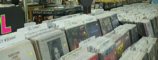 Vintage Vinyl is one of worldwide record stores..