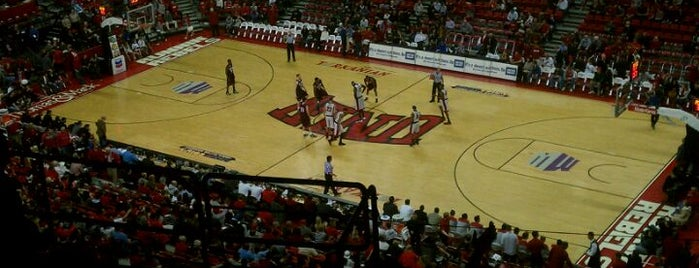 Thomas & Mack Center is one of Stadiums Visited.
