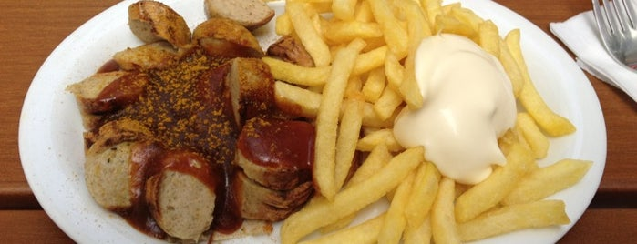 Curry & Wurst is one of Köln, baby!.