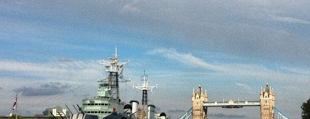 HMS Belfast is one of london.