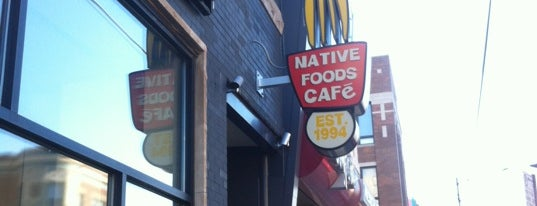 Native Foods is one of Be a Local in Lakeview.