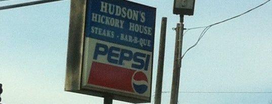 Hudson's Hickory House is one of Tempat yang Disukai Janet.