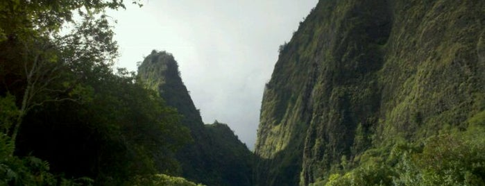 ʻĪao Valley State Park is one of Hawaii.