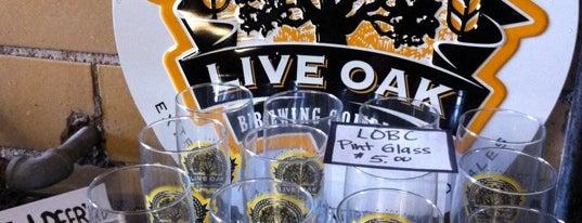 Live Oak Brewery is one of Best US Breweries--Brewery Bucket List.