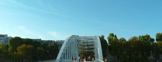 Passerelle Debilly is one of Locais salvos de Vhnv.