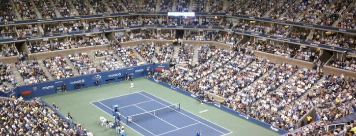 Arthur Ashe Stadium is one of Great Sport Locations Across United States.