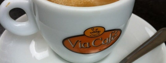 Via Café is one of Eu super recomendo - SP.