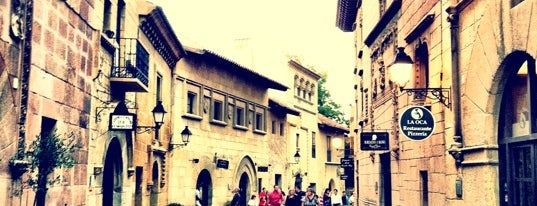 Poble Espanyol is one of Barcelona.