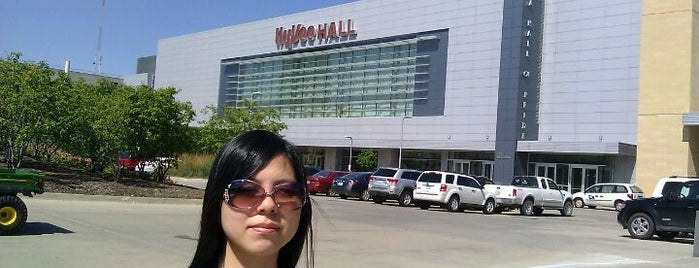 Hy-Vee Hall is one of Work.