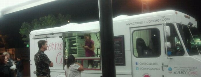 Corner Cupcakes Truck is one of 2011 Dining Out for Life San Diego.
