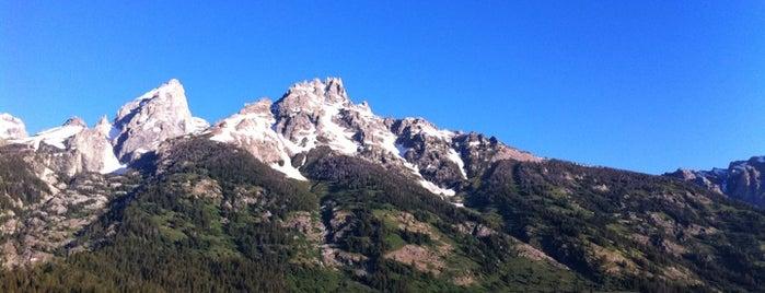 Parque Nacional de Grand Teton is one of American National Parks.