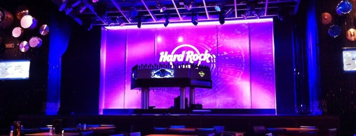 Hard Rock Cafe Tampa is one of Stephie's List......