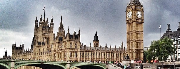 Palace of Westminster is one of London.