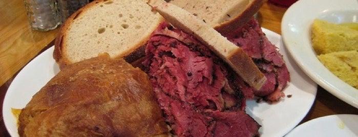 Carnegie Deli is one of FoodSherpas in New York.