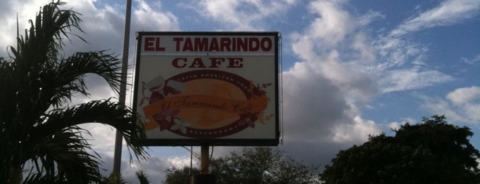 El Tamarindo Café is one of Hollywood, FL.