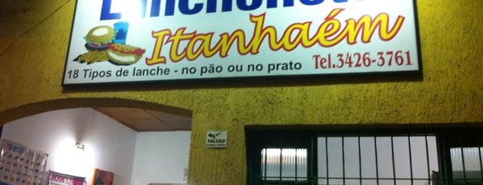 Lanchonete Itanhaém is one of Locais curtidos por Fernando.