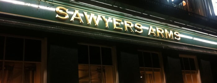 The Sawyers Arms is one of Locais curtidos por Jan.