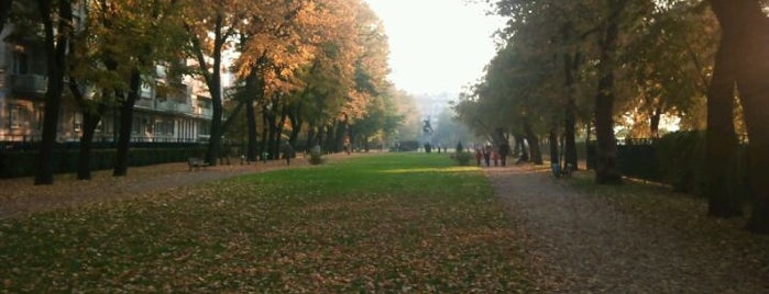 Szent István park is one of Must Do's in Budapest.