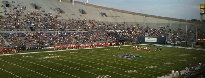 Liberty Bowl Memorial Stadium is one of sports arenas and stadiums.