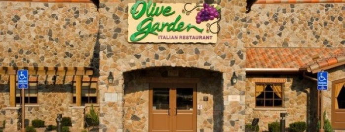 Olive Garden is one of Gespeicherte Orte von G.