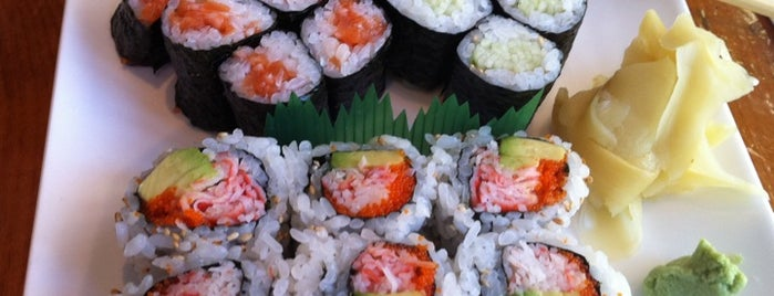Sushi Choshi is one of NY Eats.