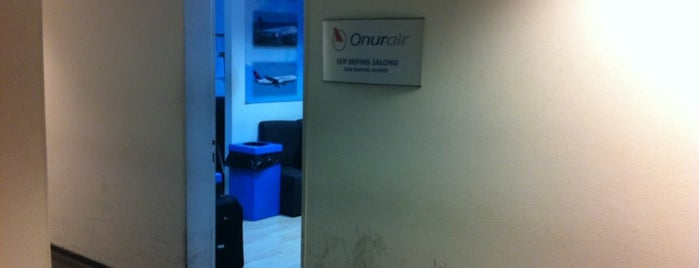 Onur Air Crew Room is one of work.
