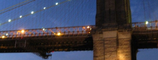 Brooklyn Bridge is one of (architecture) in NYC.