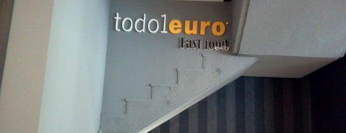 Todo A 1 Euro is one of Zaragoza.