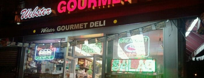 Webster Gourmet Deli is one of Mayorship....