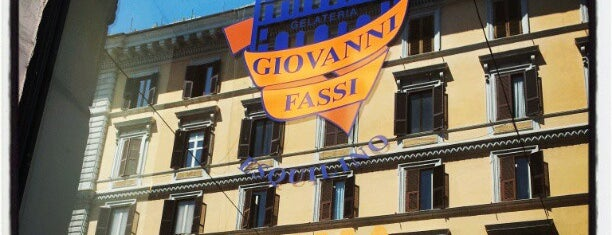 Palazzo del Freddo di Giovanni Fassi is one of World Gourmet Guide.