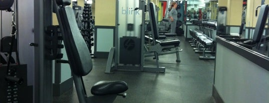Blink Fitness is one of Aaron : понравившиеся места.