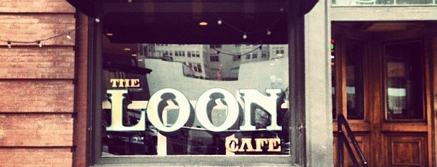 The Loon Café is one of Brooke 님이 좋아한 장소.