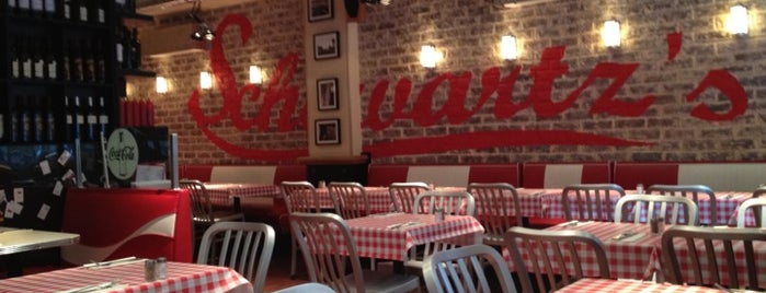 Schwartz's Deli is one of PARIS Burger.