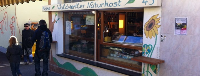 Waldviertler Naturkost is one of Bio-Restaurants in Wien.