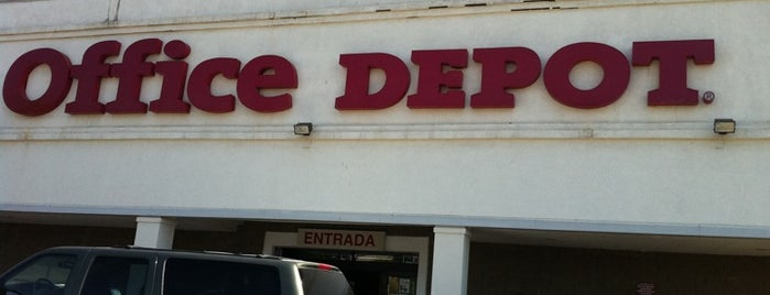 Office Depot is one of Posti che sono piaciuti a Francisco.
