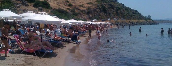 Marathonas Second Beach is one of Ifigenia: сохраненные места.