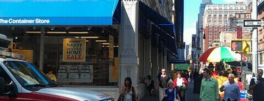The Container Store is one of NYC's Chic & Cheap Home Decor Stores.