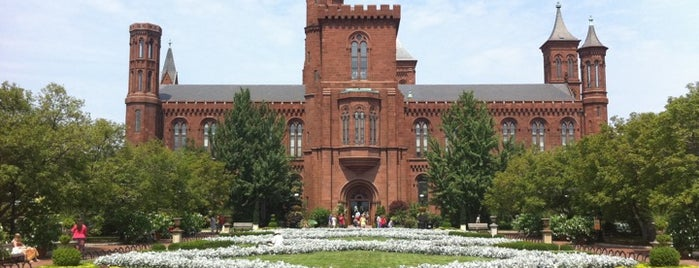 Smithsonian Institution Building (The Castle) is one of Washington, D.C.'s Best Museums - 2013.