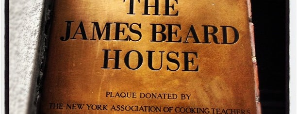 The James Beard House is one of Lieux qui ont plu à @d_d_dunn.