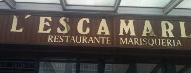 L'Escamarlà Marisqueria is one of Restaurantes ya probados:).