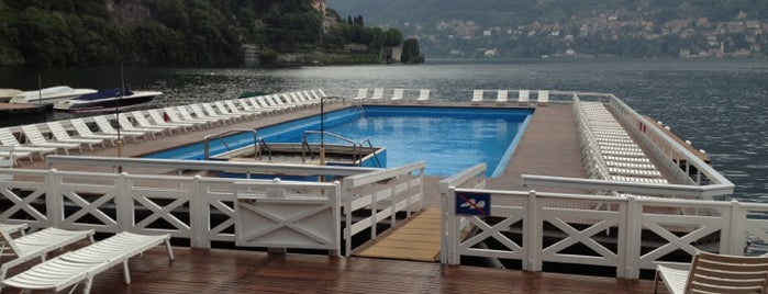 Pool @ Villa D'Este is one of Lago Di Como.
