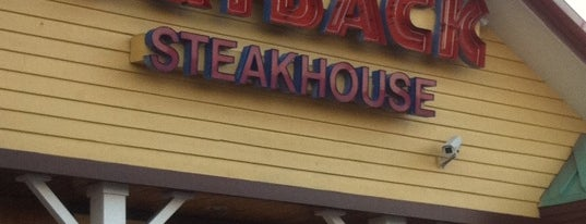 Outback Steakhouse is one of Lunch.