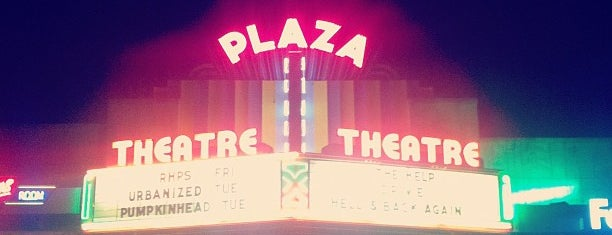 Plaza Theatre is one of Atlanta.