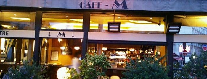 Café M is one of Paris 9ème.