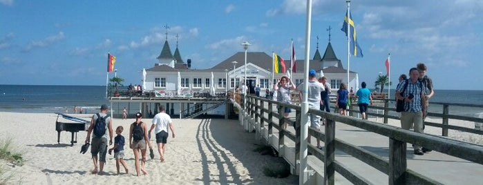 Seebrücke Ahlbeck is one of Krzysztofさんのお気に入りスポット.