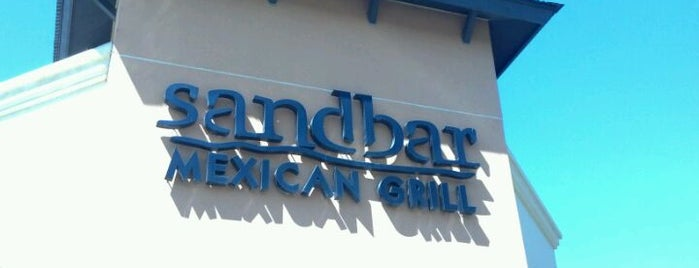 Sandbar Mexican Grill is one of Bars in the Phoenix Valley.