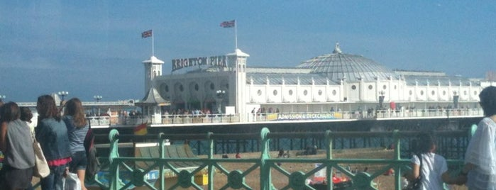 Brighton Palace Pier is one of Brighton.